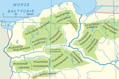 Pojezierze Drawskie Mapa Jeziora Atrakcje Wypoczynek